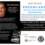 Save the Date for Sam Quinones Talk